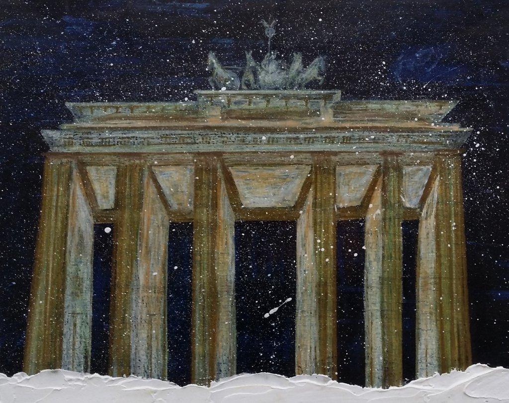 Brandenburger Tor im Schnee